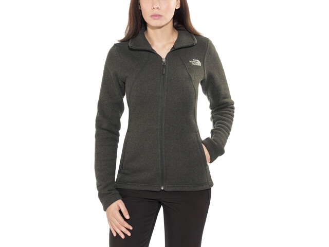 The North Face Crescent Full-Zip Damen tnf black heather